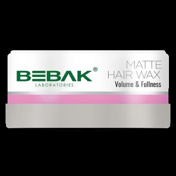 Матовий віск для укладання волосся BEBAK Matte hair wax, 150 мл
