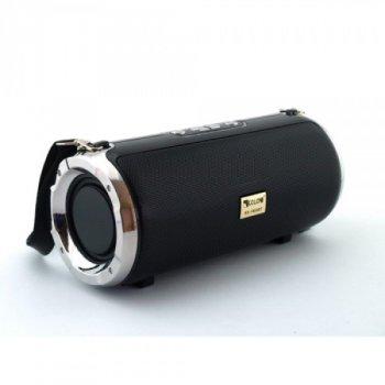 Портативна бездротова блютуз колонка Xtreme Golon Atlanfa RX-1888BT Чорна 20 ВТ потужна з підсвічуванням флешкою і радіо, Bluetooth дисплей USB (46970 I)
