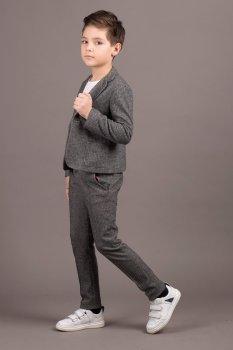 Пиджак ANDRE TAN Kids K30030P Серый