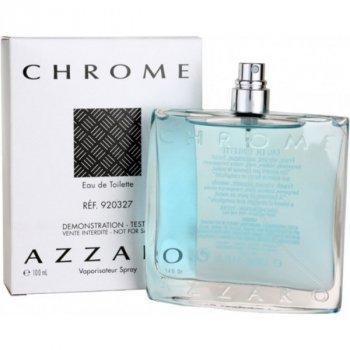 Туалетная вода для мужчин Azzaro Chrome 100 мл тестер
