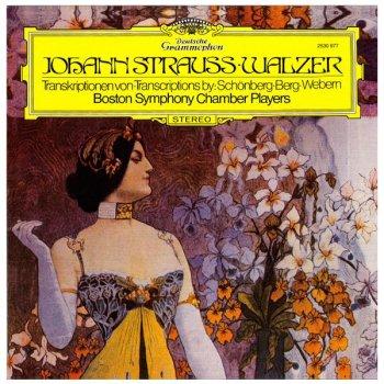 Виниловая пластинка BOSTON SYMPHONY CHAMBER PLAYERS JOHAN STRAUSS WALTZES TRANSCRIPTIONS SCHOENBERG / BERG / WEBERN (EAN 9700000294522)