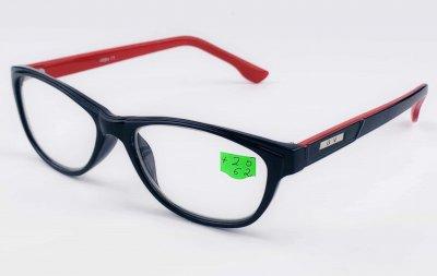Очки с диоптрией Diamond 007 Red +2