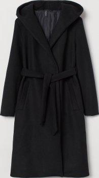 Пальто H&M 8445491 Чорне