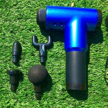 Портативный ручной вибромассажер для мышц Fascial Gun HF-280