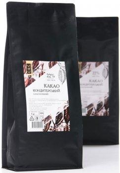 Какао-порошок C&C Chocolate and Cacao Кондитерский 22% 1 кг (2702202001158)