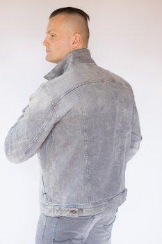 Куртка джинсова чоловіча Mustang Світло-сіра