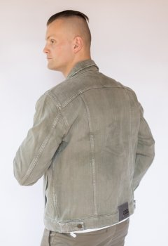 Куртка джинсова чоловіча Mustang Хакі (1007084)