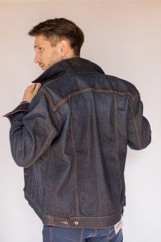 Куртка джинсова чоловіча Синя (1007958)