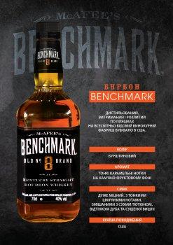 Бурбон Benchmark №8 0.7 л 40% (88004021085)