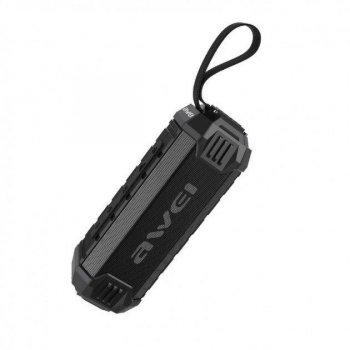 Портативна Bluetooth колонка Awei Y280, чорна 009928