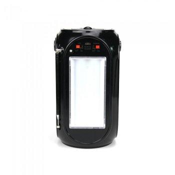 Портативная колонка, акустика GOLON RX-BT27LS с солнечной панелью Чёрный 47791