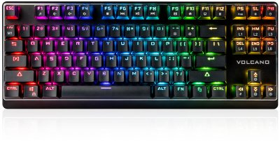 Клавиатура проводная Modecom Volcano RGB Lanparty Red Switch USB (K-MC-LANPARTY-U-RGB-RED)