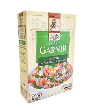 Каша Різотто по-италийски з овочами ТМ LUGO VАNKO 163 г