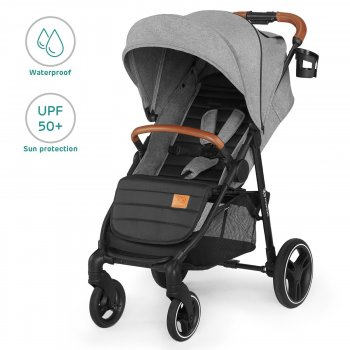 Прогулянкова коляска Kinderkraft Grande LX Gray (5902533914340)