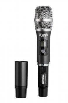 Ручний мікрофон DV audio в металевому корпусі MGX-4H