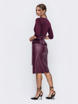 Платье Dressa 50244 Бордо