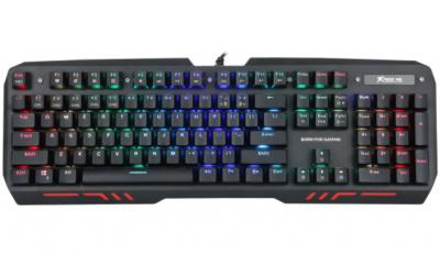 Клавиатура игровая XTRIKE ME Mechanical Gaming GK-907 Black