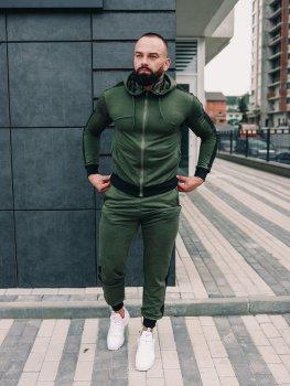 Чоловічий спортивний костюм BD35888 хакі