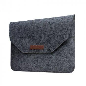 Папка конверт Dux Ducis Felt Sleeve bag для MacBook Air 11.6″ Gray (BAG-0001)