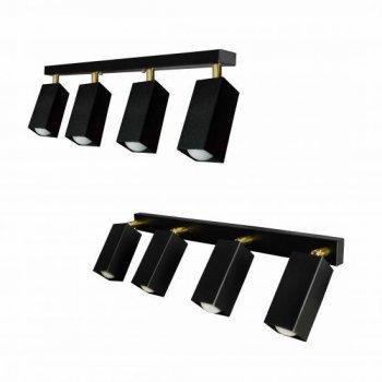 Світильник лофт з поворотним механізмом SQ 1105-4 чорний