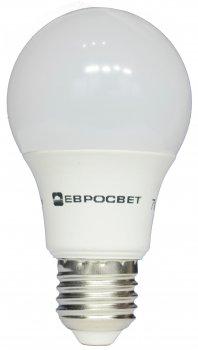 Світлодіодна лампа Евросвет 7 Вт 4200 K A-7-4200-27 Е27 (56822) 4 шт.