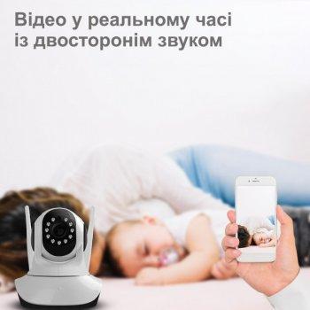 Беспроводная поворотная IP камера видеонаблюдения Wi-fi