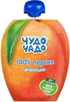 Упаковка пюре Чудо-Чадо Персик з 4 місяців 90 г x 16 шт. (4820016254114)