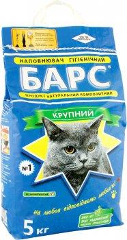 Упаковка наполнителя для кошачьего туалета Барс №1 Бентонитовый комкующий 5 кг 4 шт (4820031330046)