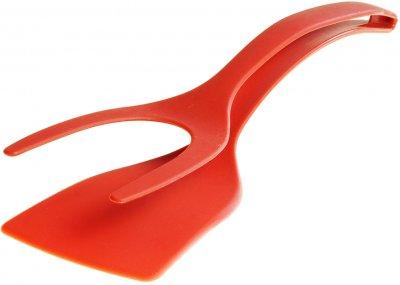 Двойная лопатка с держателем Supretto Красная (5758-0001)