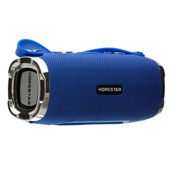Потужна портативна Bluetooth колонка Hopestar H24 USB FM 10Вт Blue