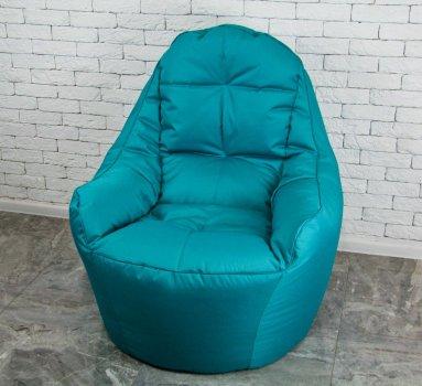 Безкаркасне Крісло мішок груша диван м'ятного кольору BOSS (XL)