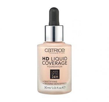 Тональный крем CATRICE HD Liquid Coverage Foundation 020 Rose Beige