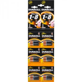 Щелочные батарейки Duracell AA (LR6) MN1500