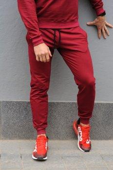 Спортивні штани чоловічі WB розмір (WB Shop) бордові