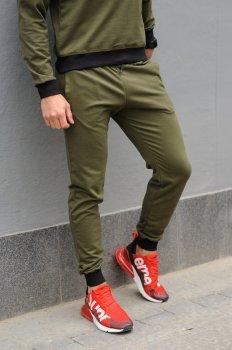 Спортивні штани чоловічі WB розмір (WB Shop) оливкові