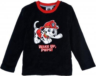 Пижама (футболка с длинным рукавом + штаны) Nickelodeon Paw Patrol TH2151 Черная