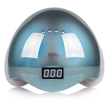 Лампа SUN 5 UV/LED 48W для полимеризации зеркально-голубая