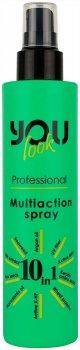 Мультіспрей для волосся миттєвої дії You look Professional 10 в 1, 200 мл (009)