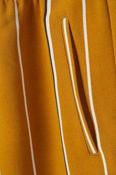 Брюки H&M 07107089 Темно-желтые