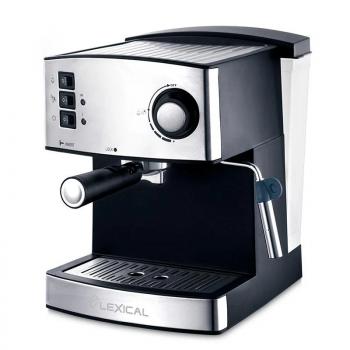Кофеварка ESPRESSO с капучинатором LEXIC LEM-06020, кофемашина, эспрессо