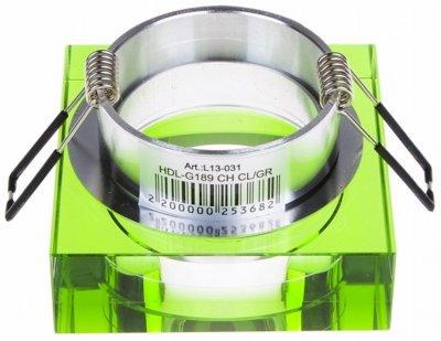 Світильник точковий Brille HDL-G189 CH CL/GR (L13-031)