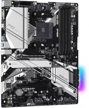 Материнська плата ASRock B550 Pro4 (sAM4, AMD B550, PCI-Ex16)