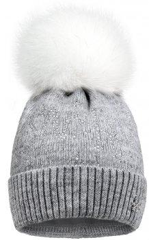 Зимняя шапка David's Star 1920 52 см Серая (ROZ6400021825)