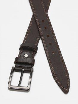 Мужской кожаный ремень Laras Cvgnn14-125 125 см Коричневый (ROZ6400018302)