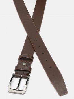 Мужской кожаный ремень Laras Cvmb21-125 125 см Коричневый (ROZ6400018362)