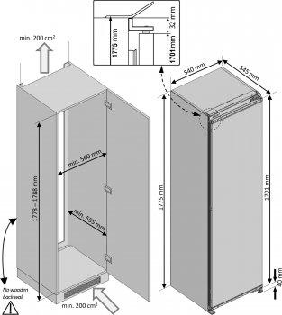 Холодильник BEKO BSSA315K2S