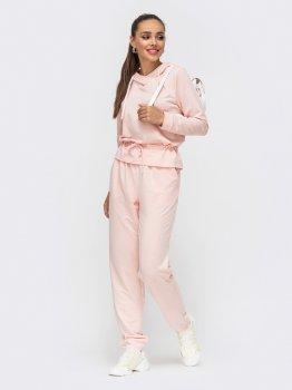 Спортивный костюм Dressa 50683 Пудровый