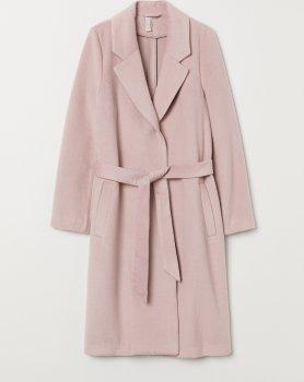 Пальто H&M 6902128wt Пудрове