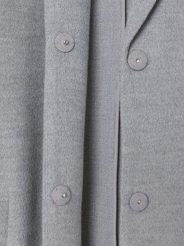 Пальто H&M 7553610wt Світло-сірий меланж