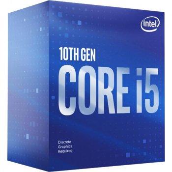 Процесор Intel Core i5 10600K 4.1 GHz (12MB, Comet Lake, 125W, S1200) Box (BX8070110600K)